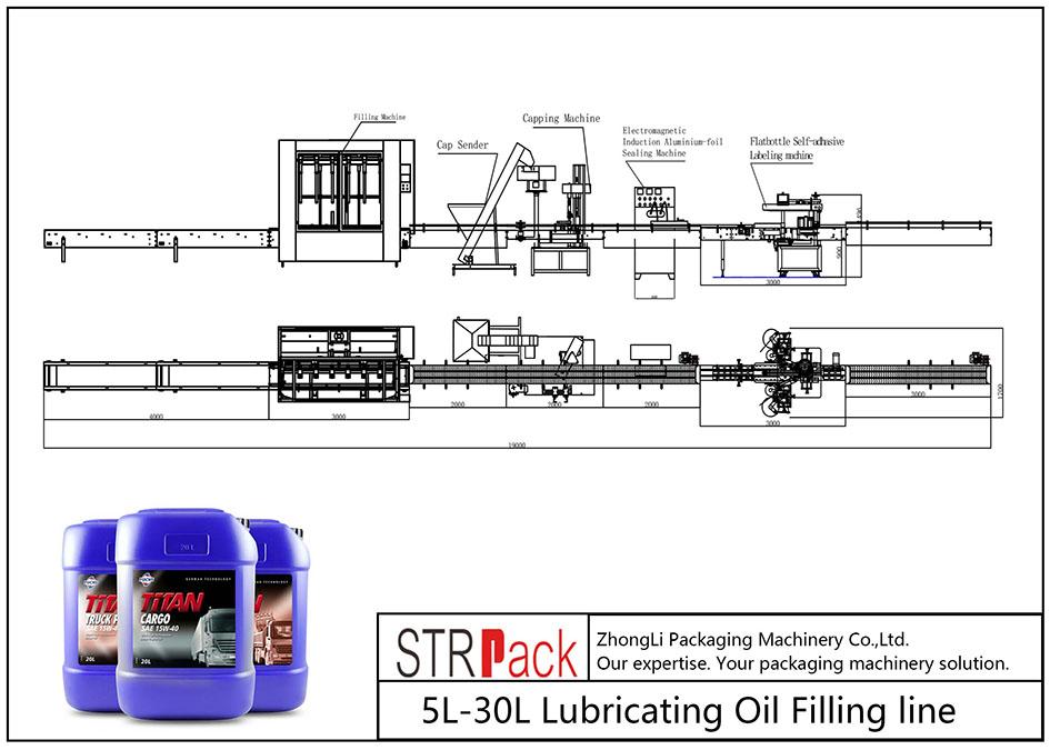 สายเติมน้ำมันหล่อลื่นอัตโนมัติ 5L-30L