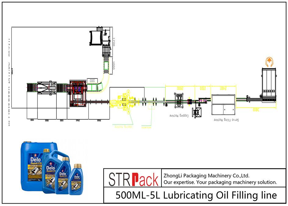 สายเติมน้ำมันหล่อลื่นอัตโนมัติ 500ML-5L