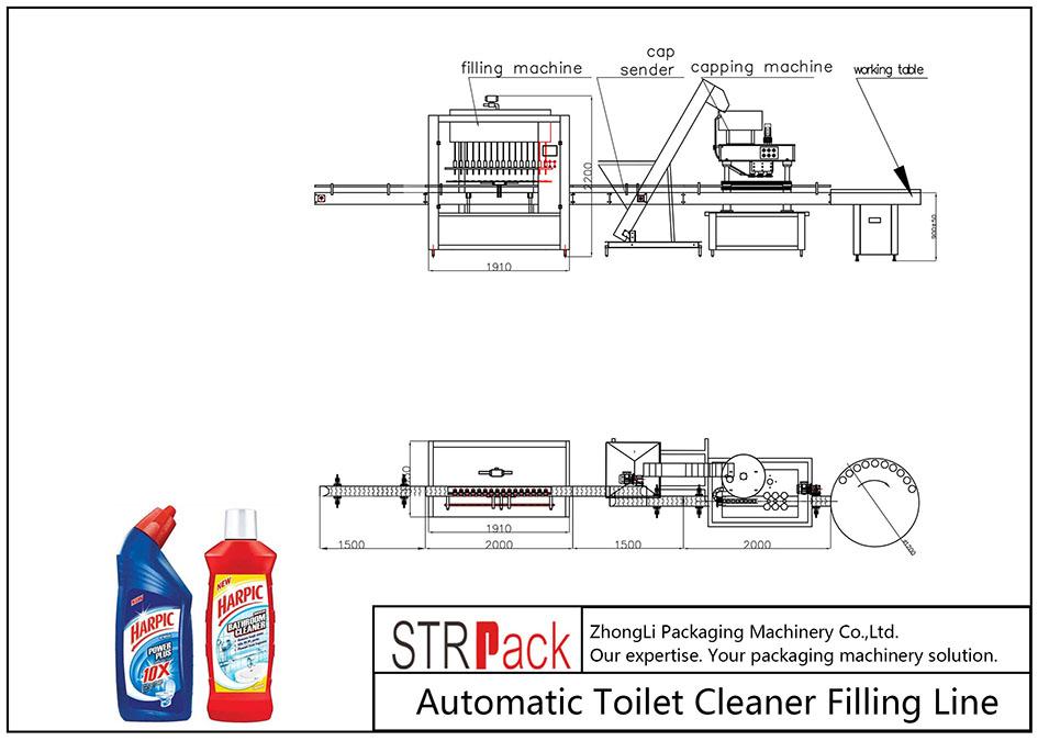 เครื่องเติมน้ำยาทำความสะอาดห้องน้ำอัตโนมัติ